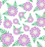 Fougère de floraison Image stock
