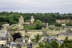 Fougères, Brittany, France. Stock Images