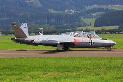 Fouga CM-170 Magister 免版税库存照片