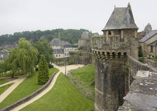 Fougeres Stockbild