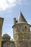 Fougeres - Castle Royalty Free Stock Images