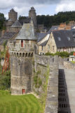 Fougeres Royalty Free Stock Photo