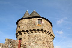 Fougeres Castle Stock Photography