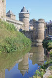 Fougeres Castle, France Royalty Free Stock Photography