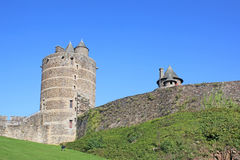 Fougeres castle, France Royalty Free Stock Image