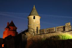 Fougeres Castle Royalty Free Stock Photos