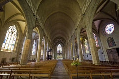 Fougeres - Church Royalty Free Stock Photos