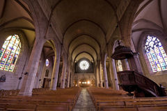 Fougeres - Church Stock Images