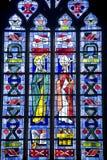 Fougeres - Church Stock Photo