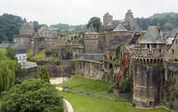 Fougeres Royalty Free Stock Photos