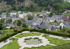 Fougeres Royalty Free Stock Photography