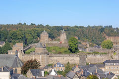Fougeres, France Royalty Free Stock Images
