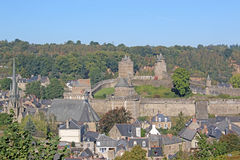 Fougeres, France Stock Photo