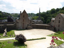 Fougeres-Schloss Stockfoto
