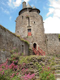 Fougeres-Schloss Lizenzfreie Stockfotos