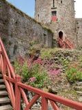 Fougeres-Schloss Stockbild