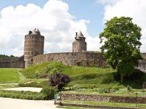 Fougeres-Schloss Lizenzfreie Stockfotografie