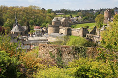 Fougeres, Stock Images