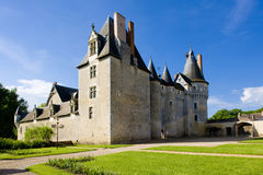 Fougeres-sur-Bievre Castle Royalty Free Stock Images