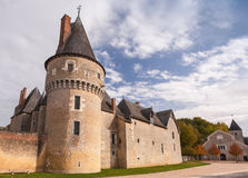 Fougeres-sur-Bievre, French castle Royalty Free Stock Photography