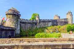 Fougères, Brittany, France. Royalty Free Stock Photography