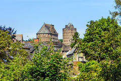 Fougères, Brittany, France. Royalty Free Stock Photo