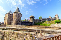 Fougères, Brittany, France. Royalty Free Stock Images