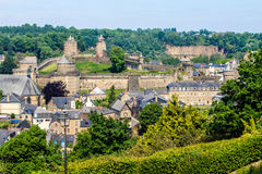 Fougères, Brittany, France. Stock Photography