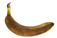 Foul banana Royalty Free Stock Image