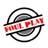 Foul Play rubber stamp Royalty Free Stock Photo