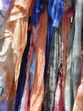 Foulards of different colours Royalty Free Stock Images