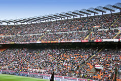 Foule de stade Photo stock