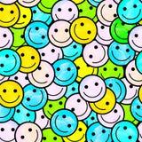 Foule des émoticônes de sourire Sourit le modèle d'icône Photographie stock