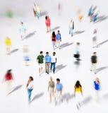 Foule ethnique de variation d'unité d'appartenance ethnique de diversité diverse Images stock
