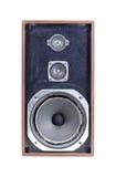 found old speaker Στοκ Φωτογραφίες
