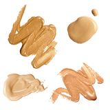 Foundation color sample Royalty Free Stock Photo