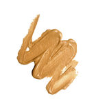 Foundation color sample. Make-up for fashion and beauty magazines Stock Photo