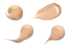 Foundation color sample Stock Photography