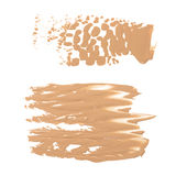 Foundation color sample Royalty Free Stock Images