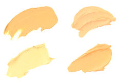 Foundation Color Samples Stock Photography