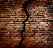Foundation crack Royalty Free Stock Photography