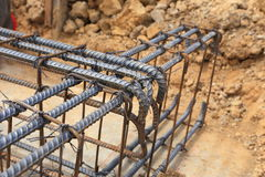 Foundation for home building royalty free stock image
