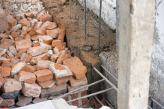 Foundation for House Construction Stock Photography