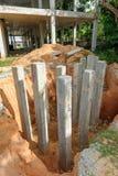Foundation pile Stock Photos