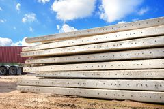 Foundation pile Stock Photography
