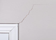 Cracks on the wall Royalty Free Stock Photos