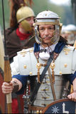 Foundation of Rome. Romaia - Rome celebrates its foundation, April 2009: man wearing ancient roman costume Stock Photography