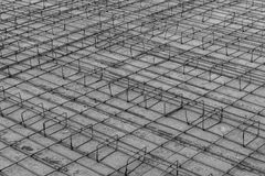 Foundations of a building Royalty Free Stock Images