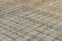 Foundations of a building Royalty Free Stock Image