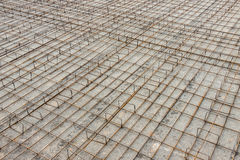 Foundations of a building Royalty Free Stock Photo